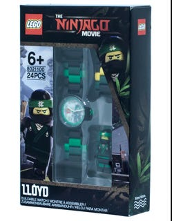 THE LEGO® NINJAGO® MOVIE™ Lloyd Minifigure Link Watch