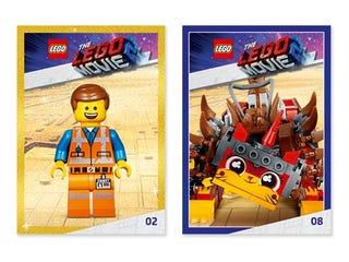 Lots de cartes à collectionner THE LEGO® MOVIE 2™