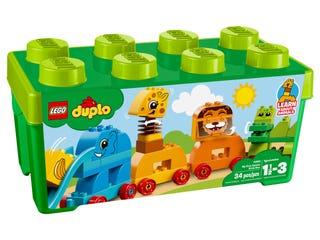 My First Animal Brick Box