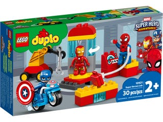 Laboratorium van superhelden