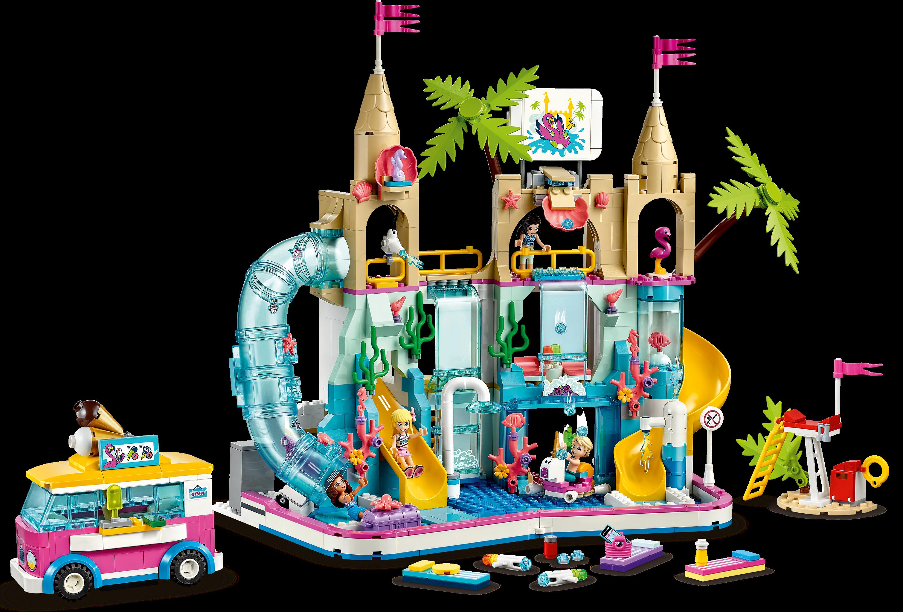 Lego city для мальчиков аквапарк арендовать недвижимость в испании