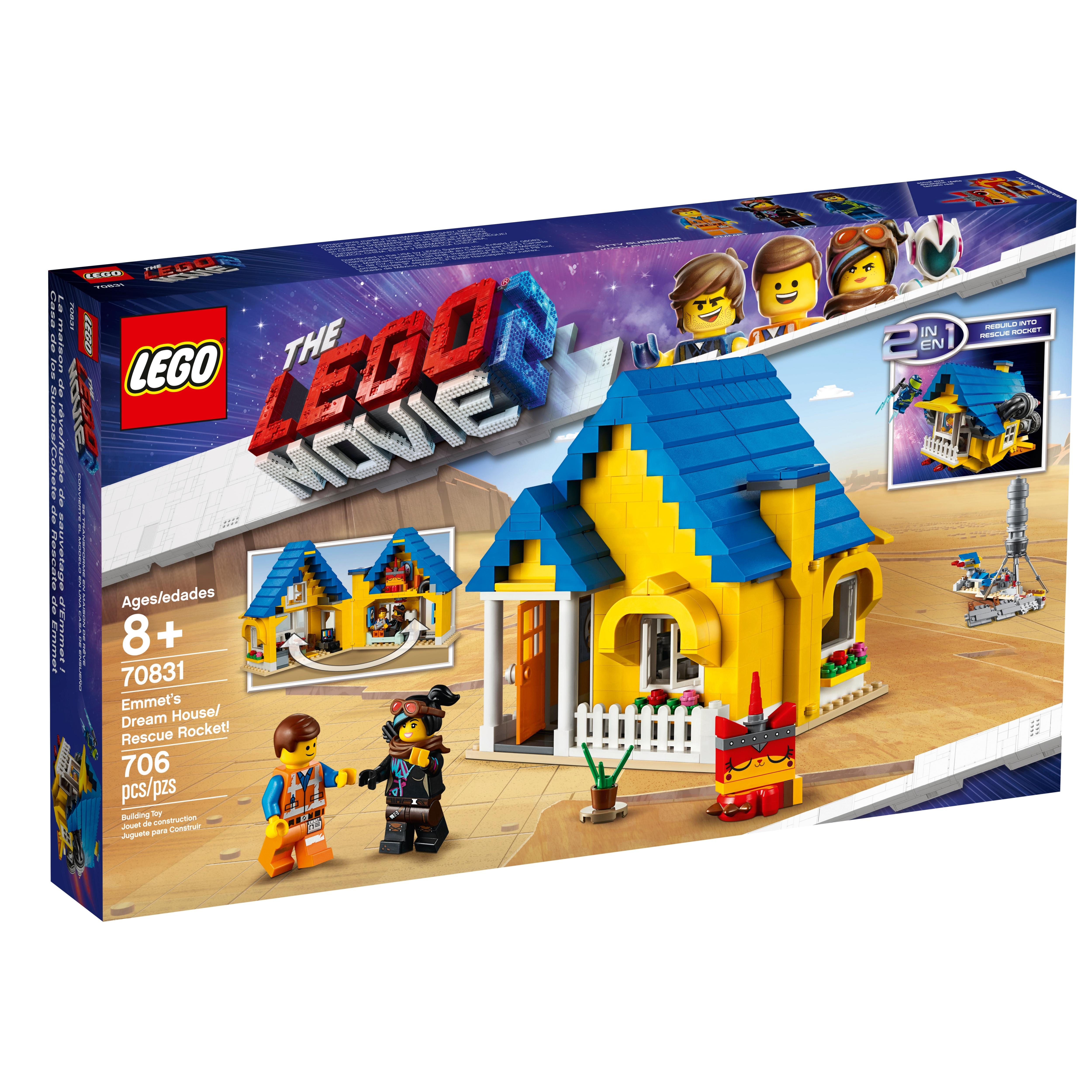 CITY LEGO WHITE PICKET FENCE TRAIN,HARRY POTTER 2