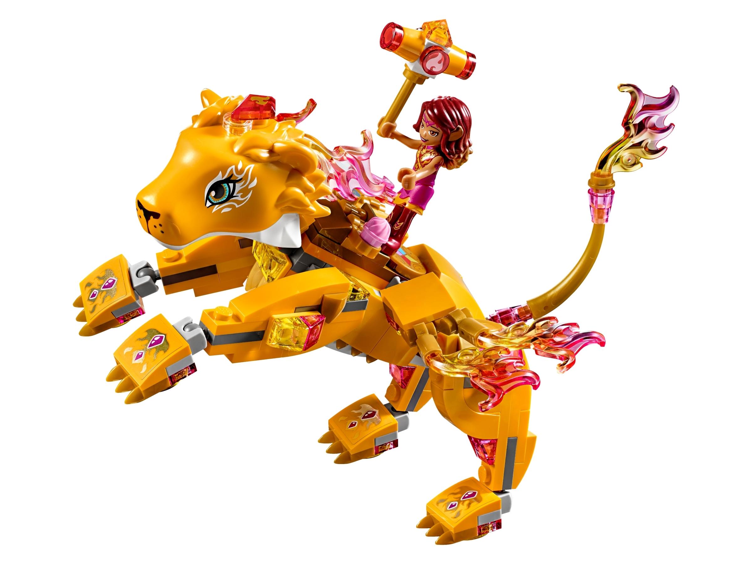 LEGO 41192 Azari /& The Guardian Fire Lion Capture Fantasy Building Toy Playset