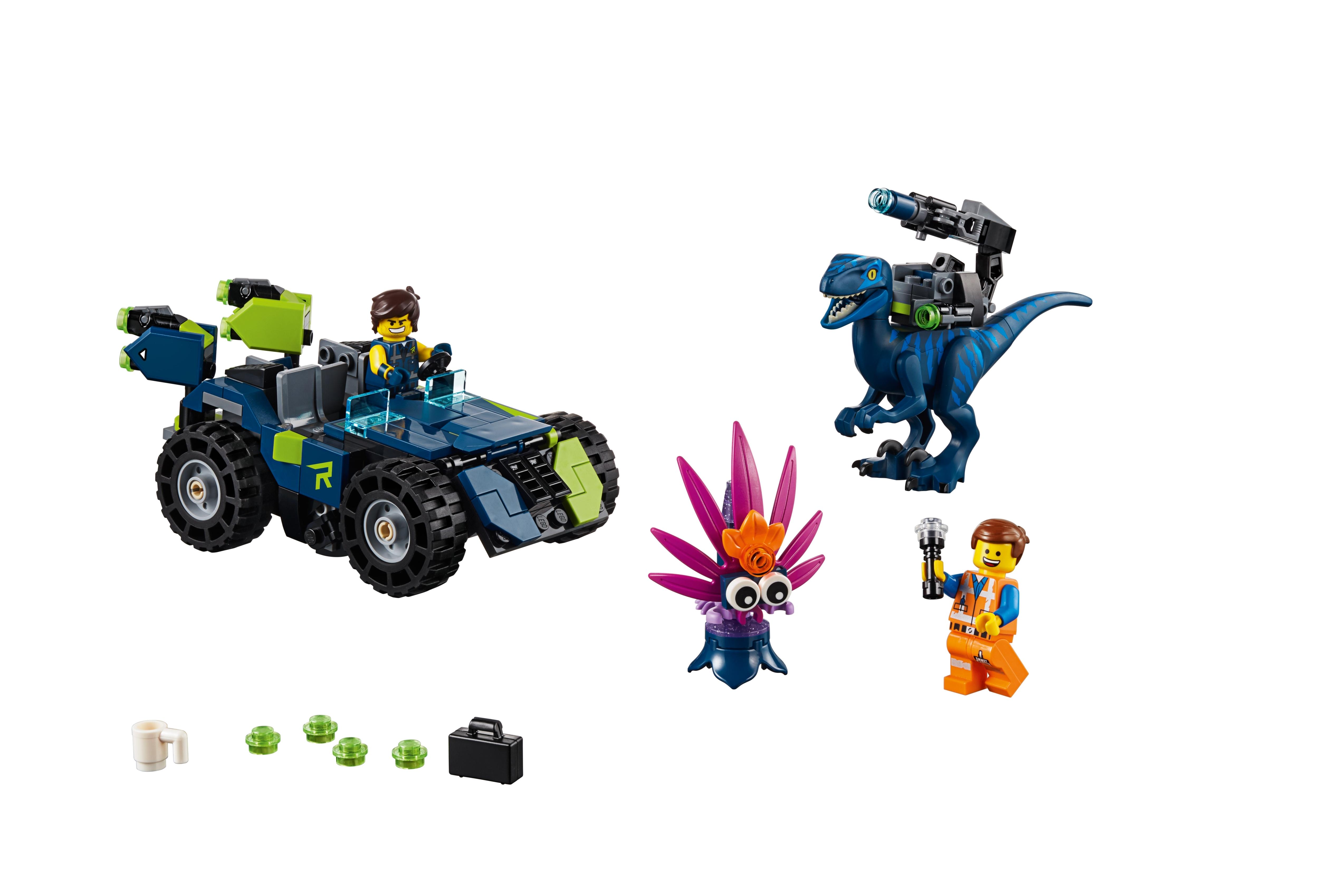 New Lego Emmet Minifigure LEGO Movie 2 from 70826 Minifig