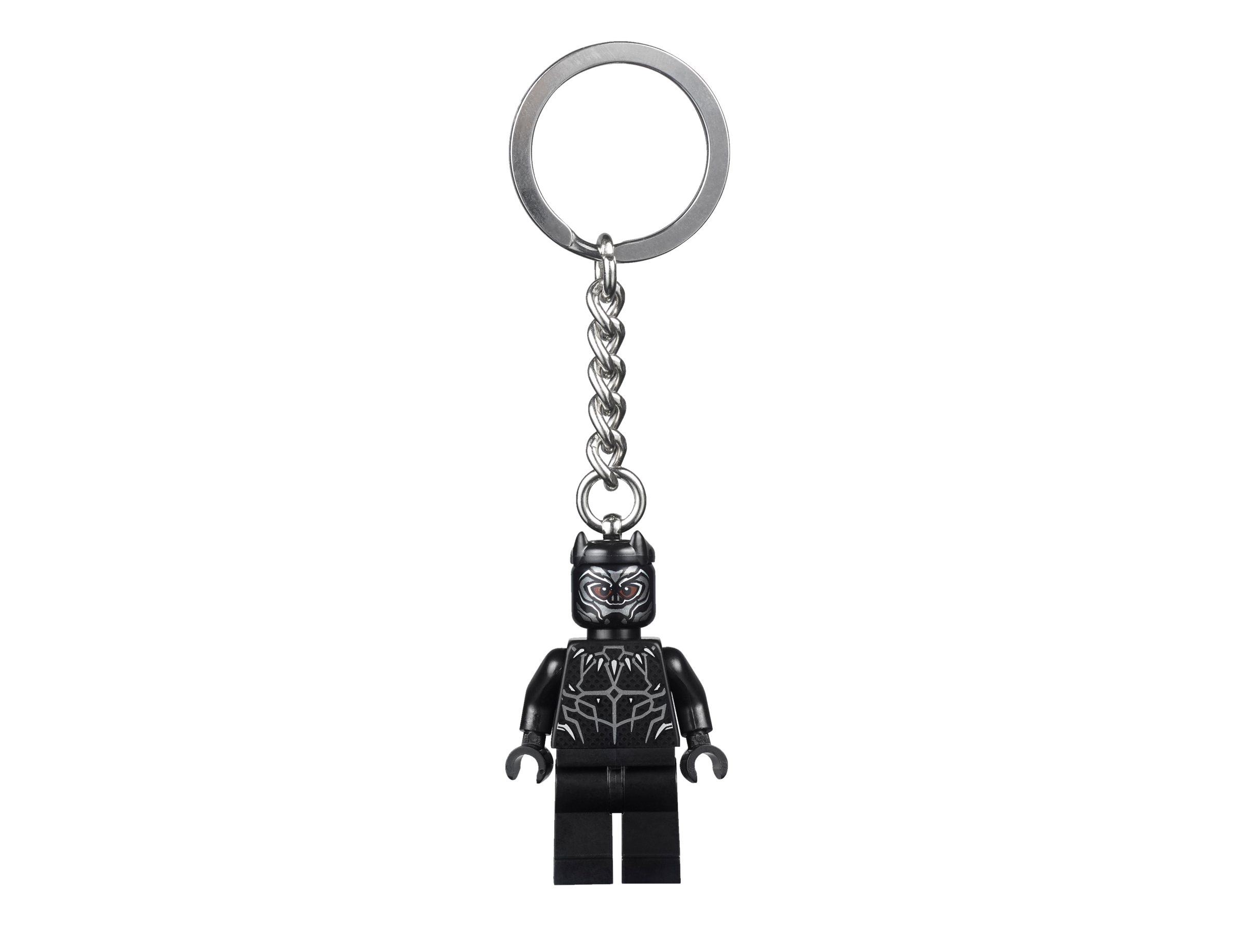 LEGO MARVEL BLACK PANTHER KEYCHAIN 853771 BRAND NEW ORIGINAL 2018 SUPER HEROES