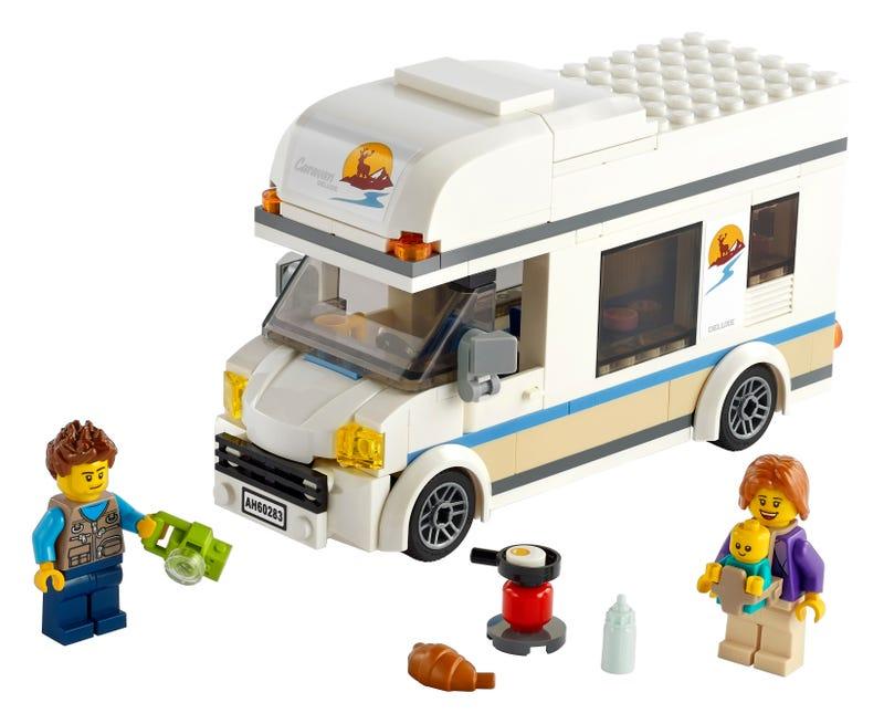 Le camping-car de vacances