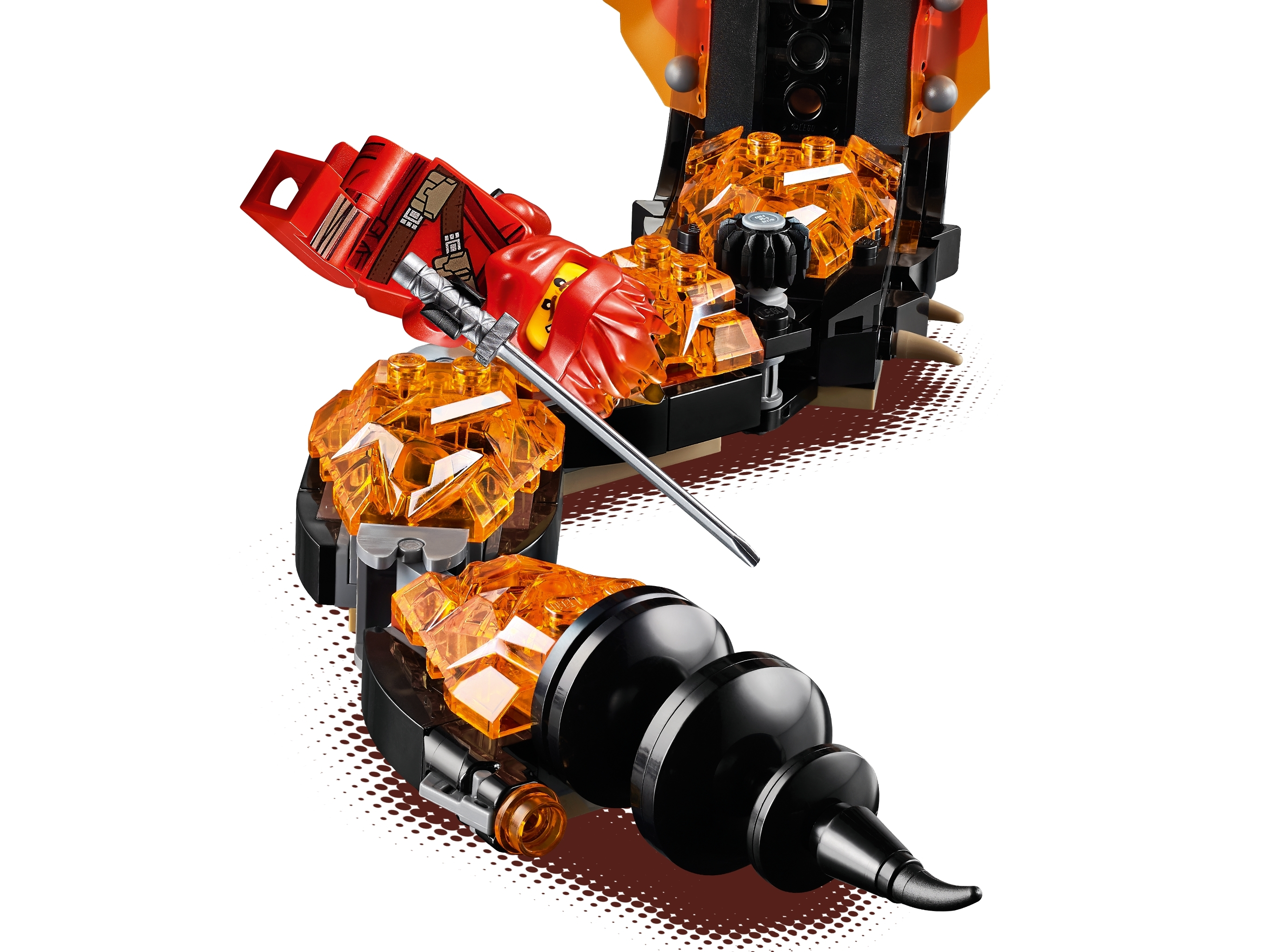 LEGO 70674 Ninjago Fire Fang Set BRAND NEW463 pcs NEW SEALED!