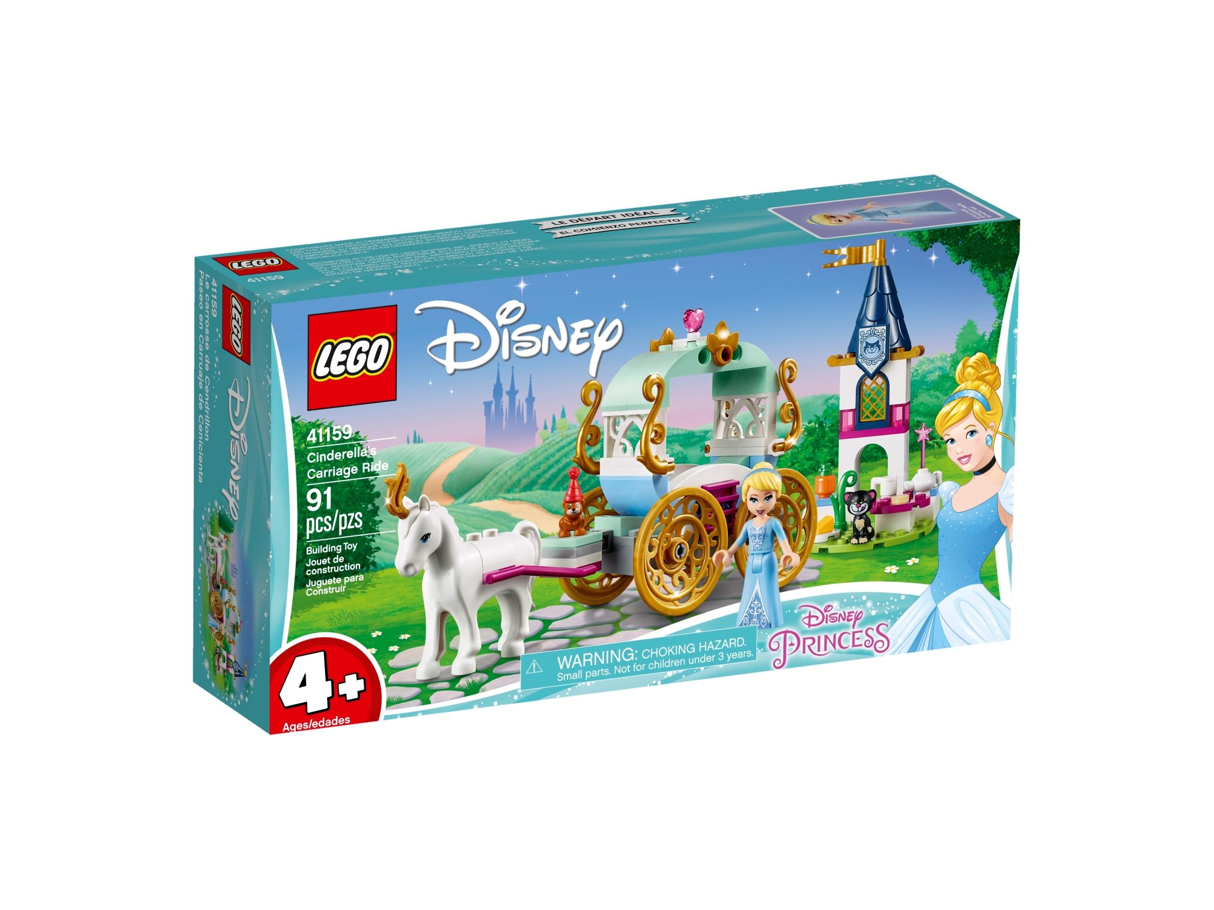 Lego® Juniors Disney Princess Askepotts vogn   Multitrend
