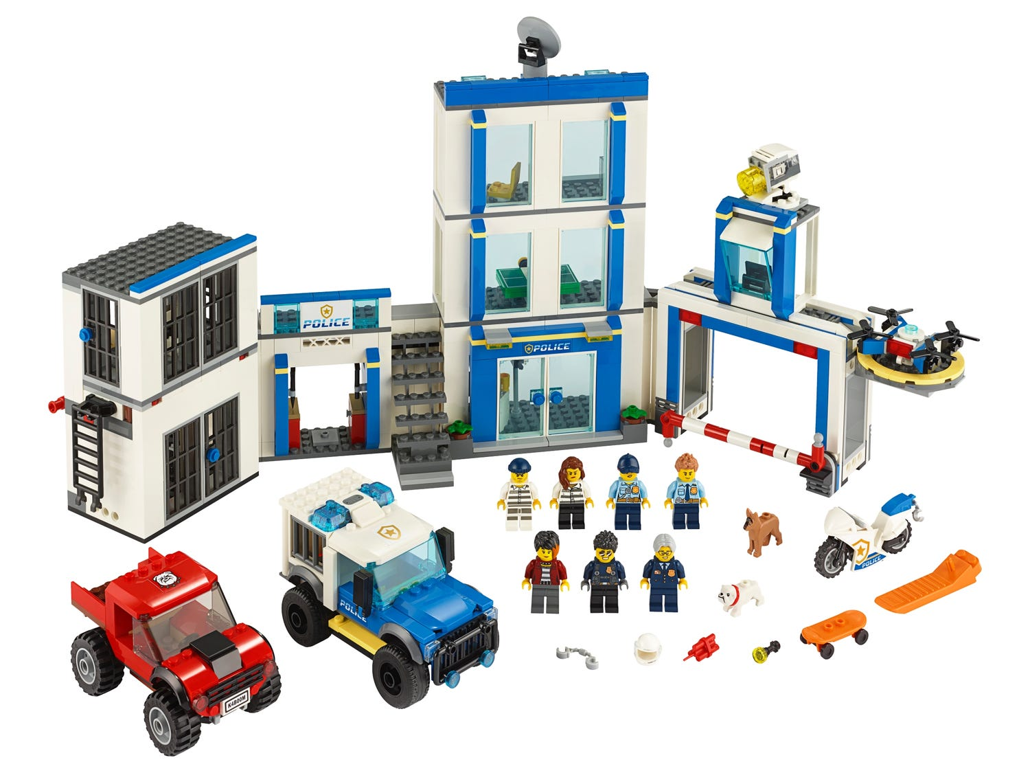 Police Station 60246 City Buy Online At The Official Lego Shop Us