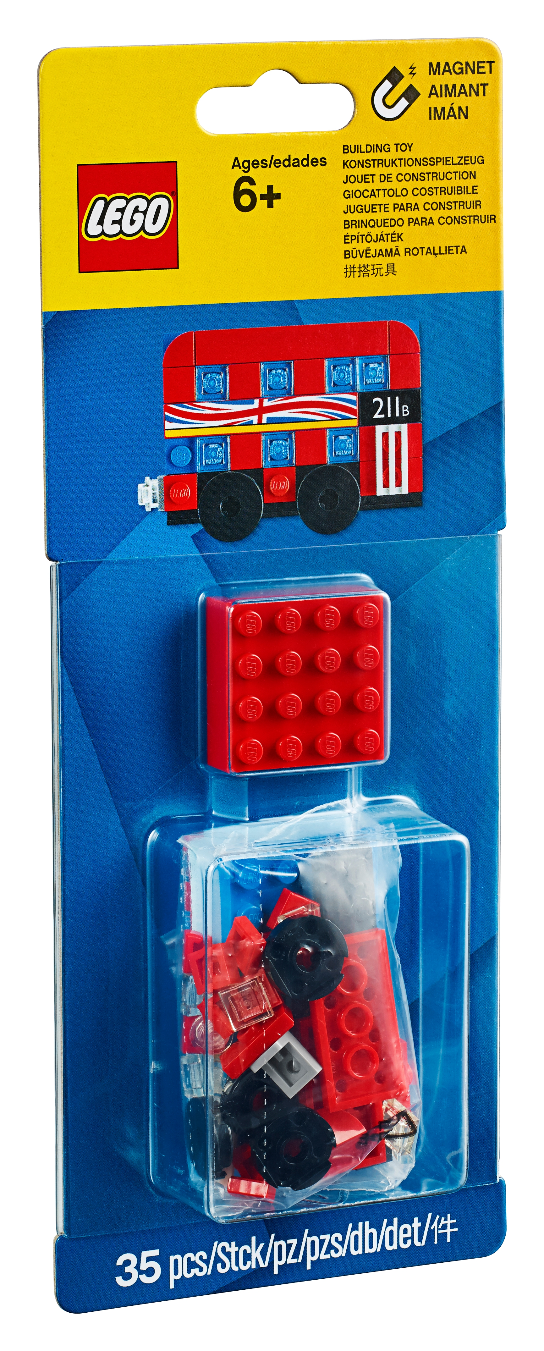 London Bus Magnet Build 853914 Miscellaneous Buy Online At The Official Lego Shop Us
