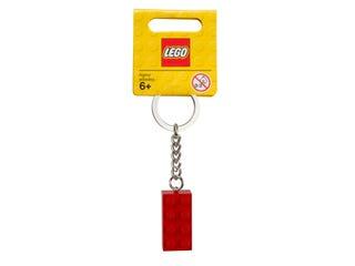 Brelok do kluczy z czerwonym klockiem LEGO®