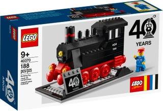 Set zum 40. Jubiläum von LEGO® Eisenbahn