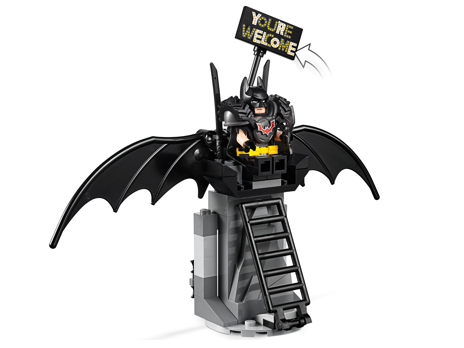Batman Battle Ready Tyre Armour DC Comic Super Hero Custom Lego Mini Figure Toy