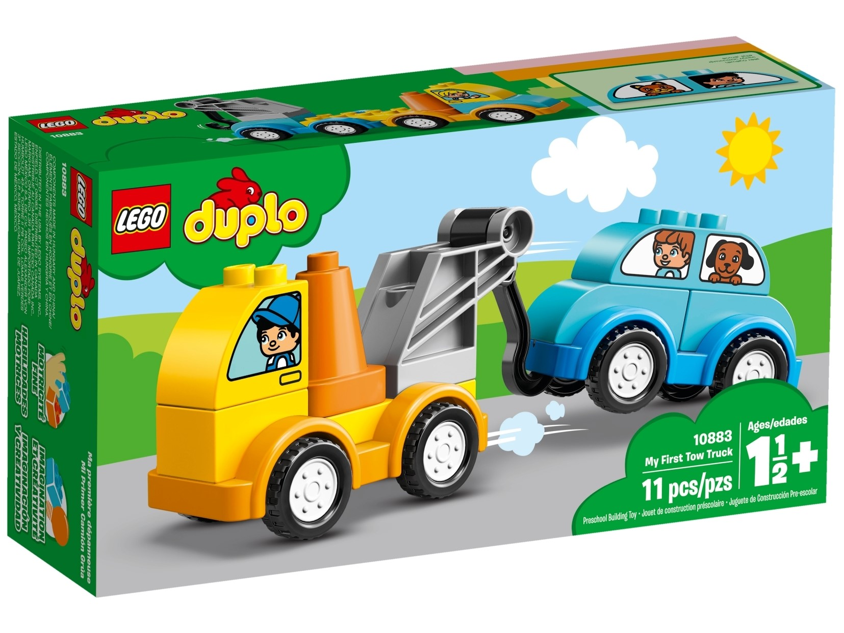 My First Tow Truck 10883 Duplo Buy Online At The Official Lego Shop Us