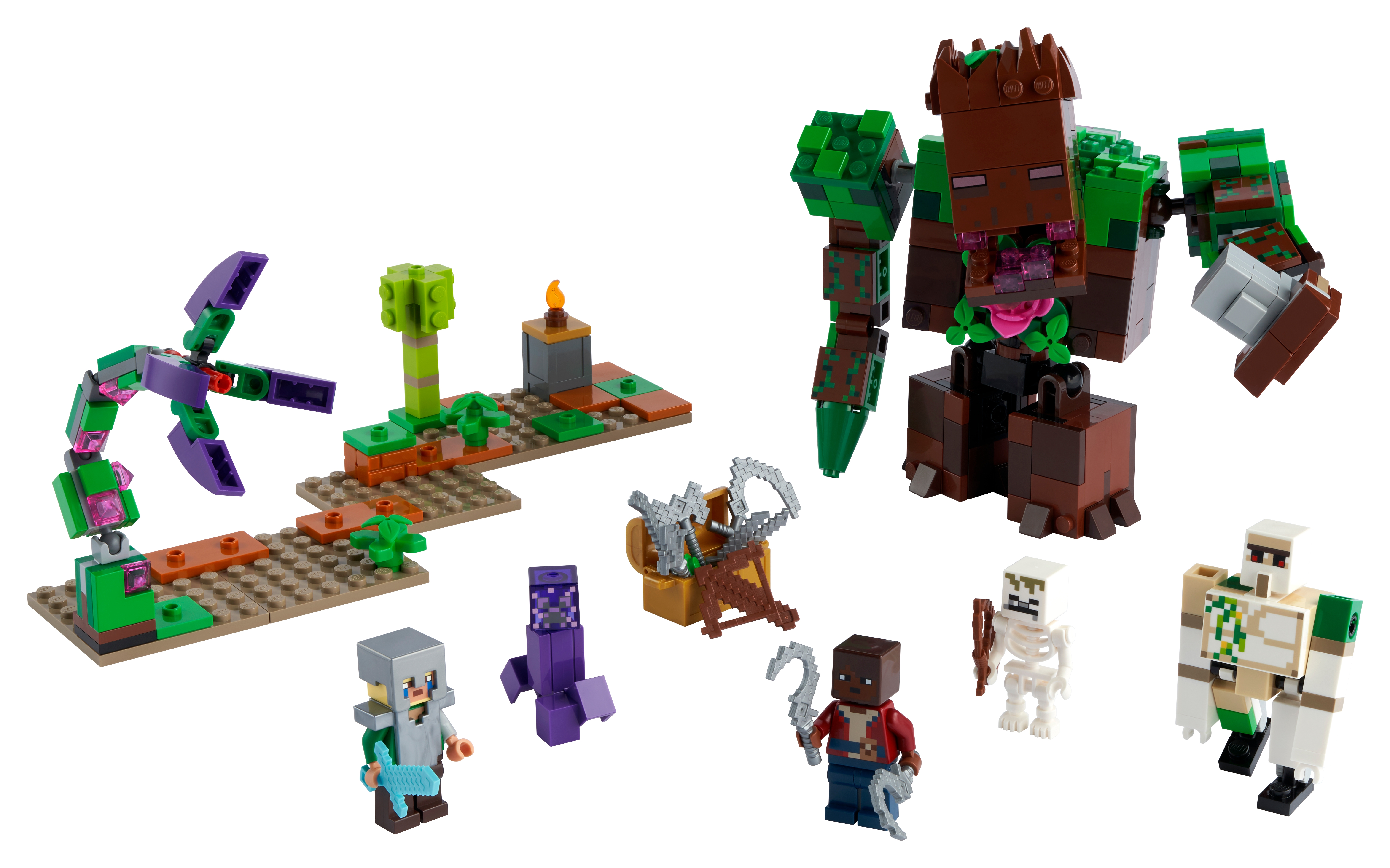 The Jungle Abomination 21176 Minecraft™ Buy online at the