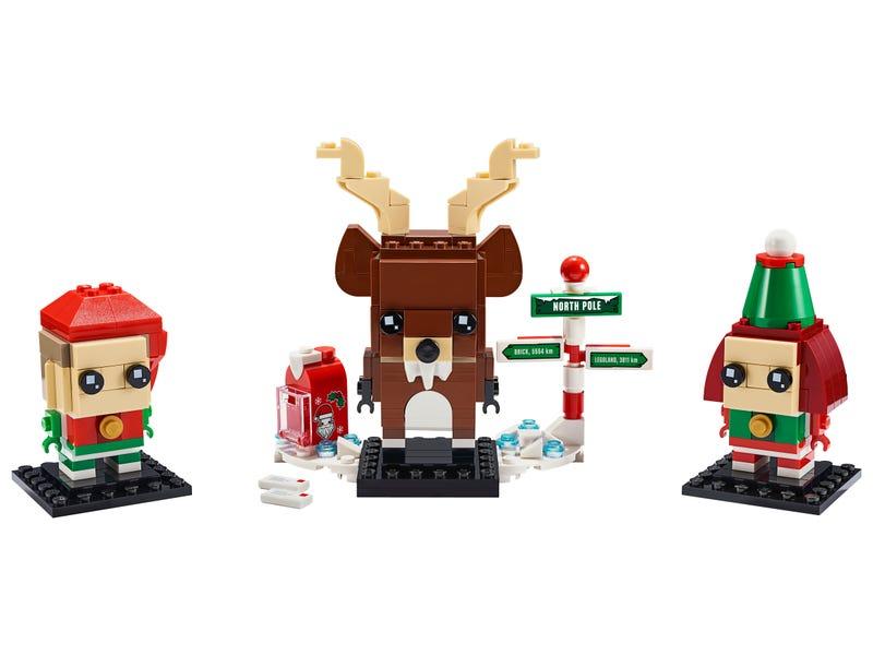 Reindeer, Elf and Elfie