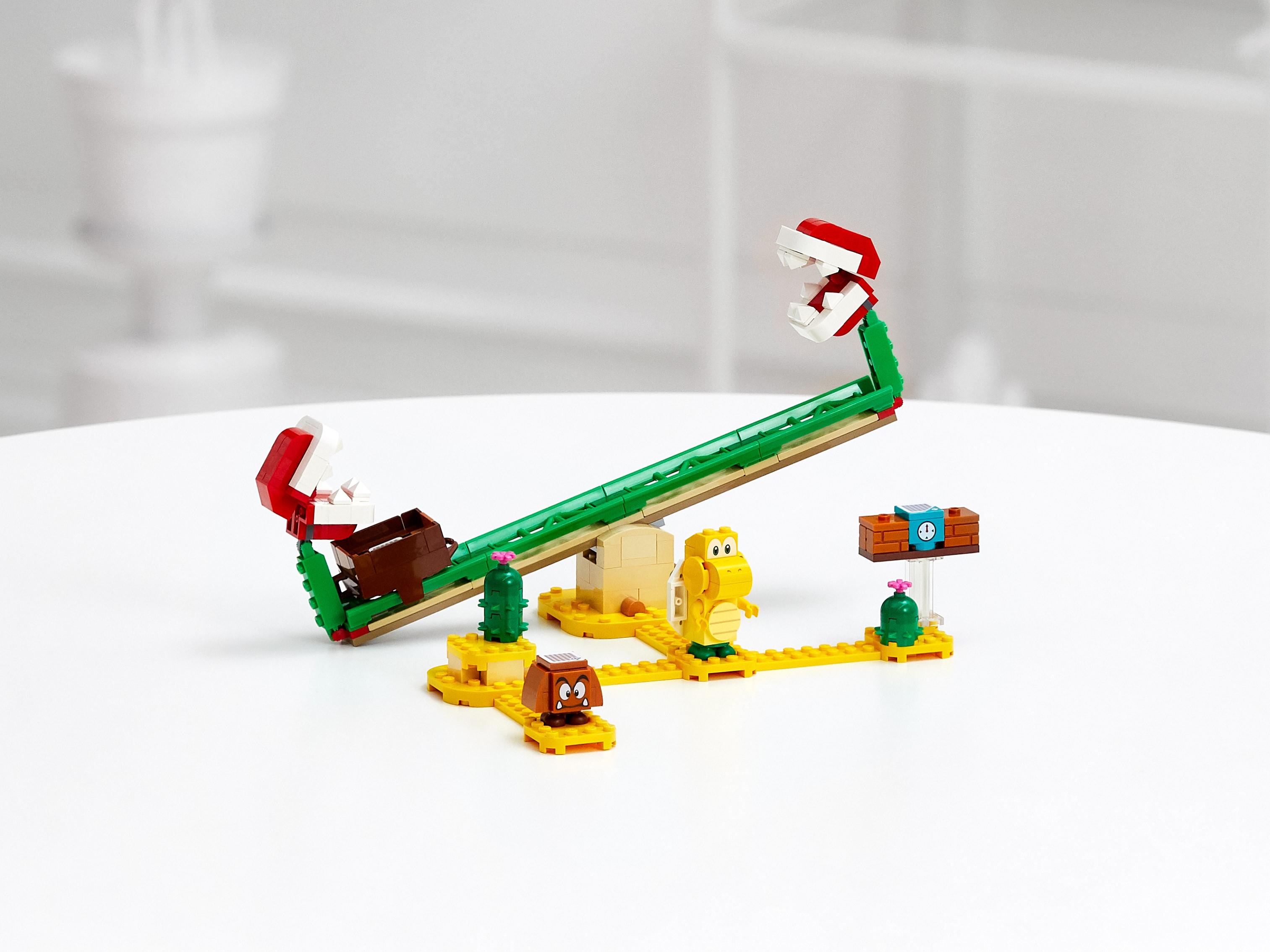 LEGO 71365 Super Mario 吞食花翹翹板 擴充版圖