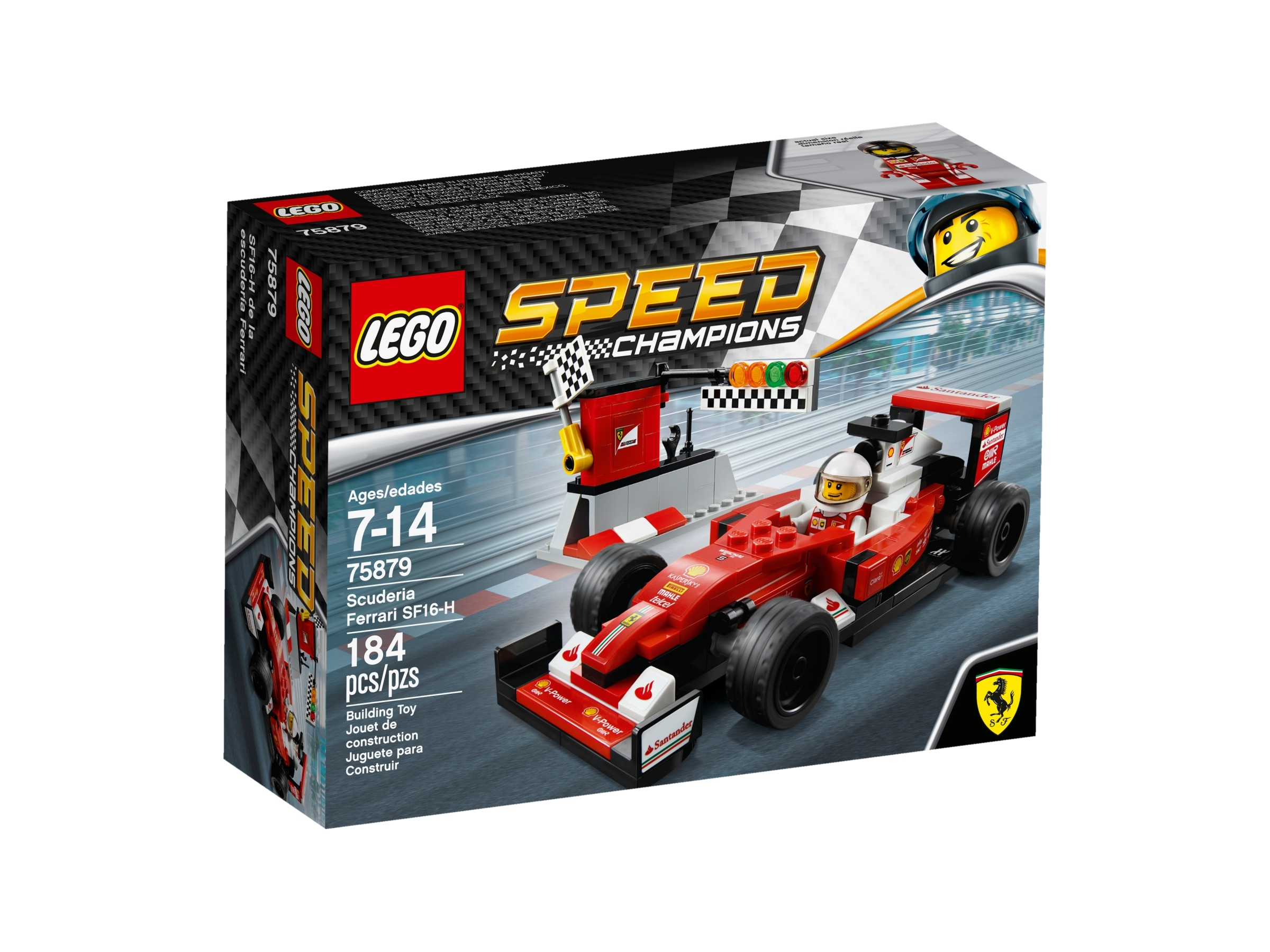 Scuderia Ferrari Sf16 H 75879 Speed Champions Buy Online At The Official Lego Shop Us