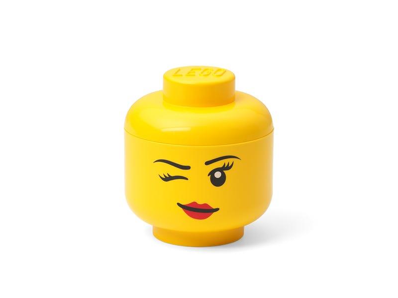 LEGO Storage Head Mini (Winking)