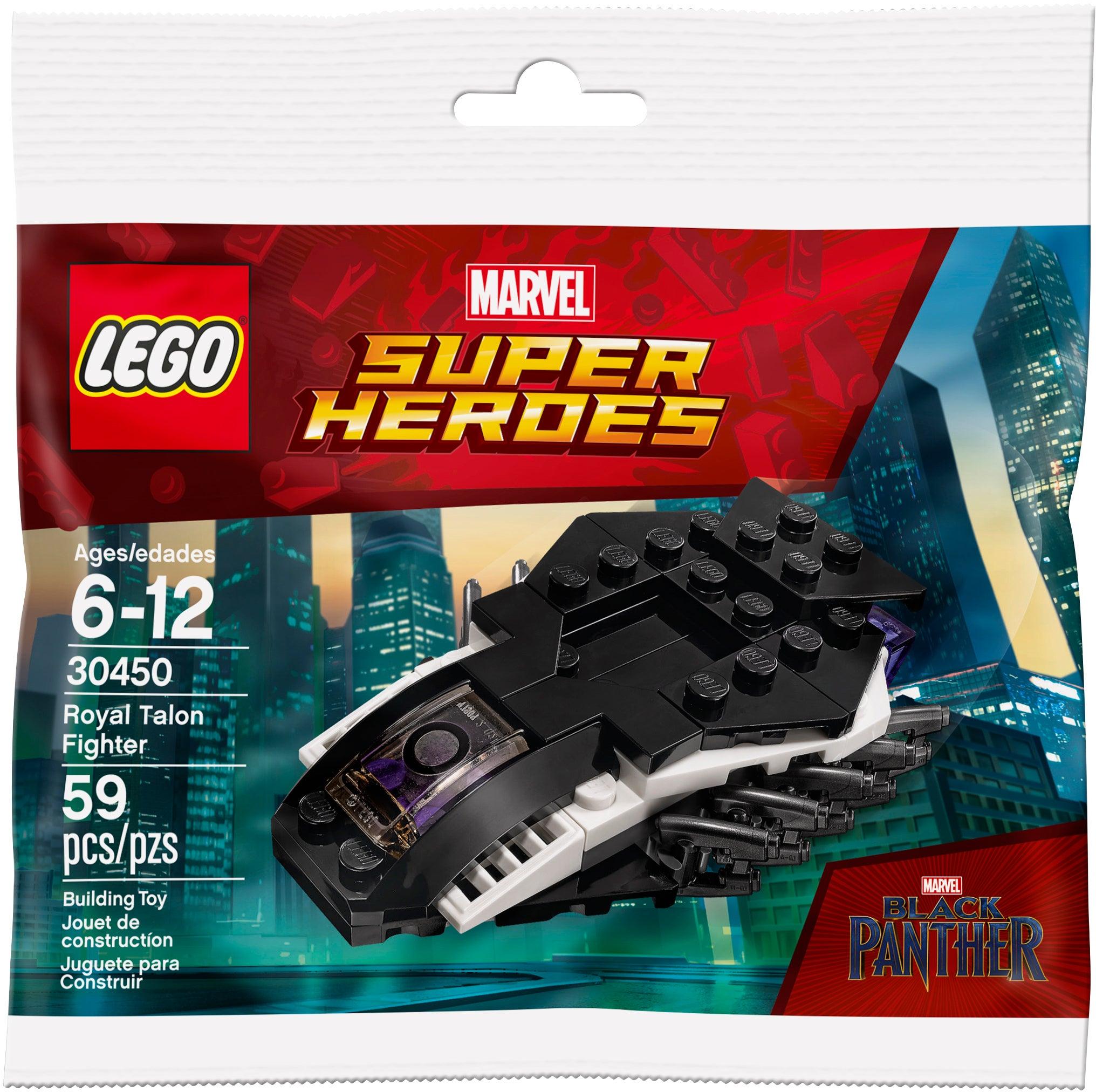 Lego Black Panther Polybag Royal Talon Fighter 30450 New