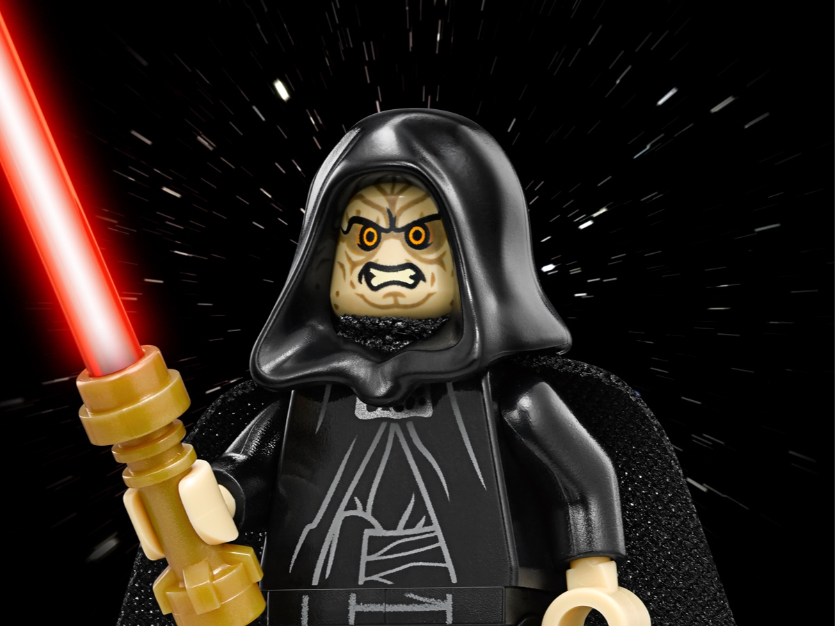 A Jedi who was turned Lego Star Wars Custom Sith lord in Green outfit