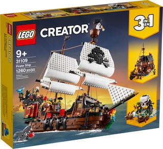 Pirate Ship 31109 Creator 3 In 1 Buy Online At The Official Lego Shop Us