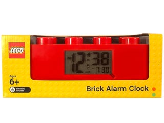 LEGO® Red Brick Clock