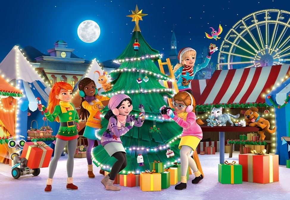 New Lego Friends Advent Calendar 2019 Christmas Holiday Winter Xmas Gift 41382