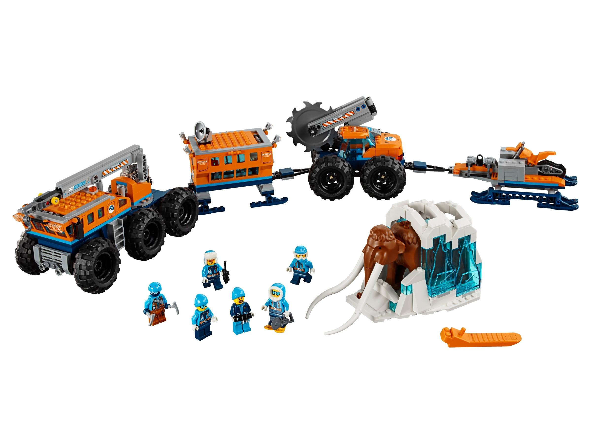 lego city arctic mobile base