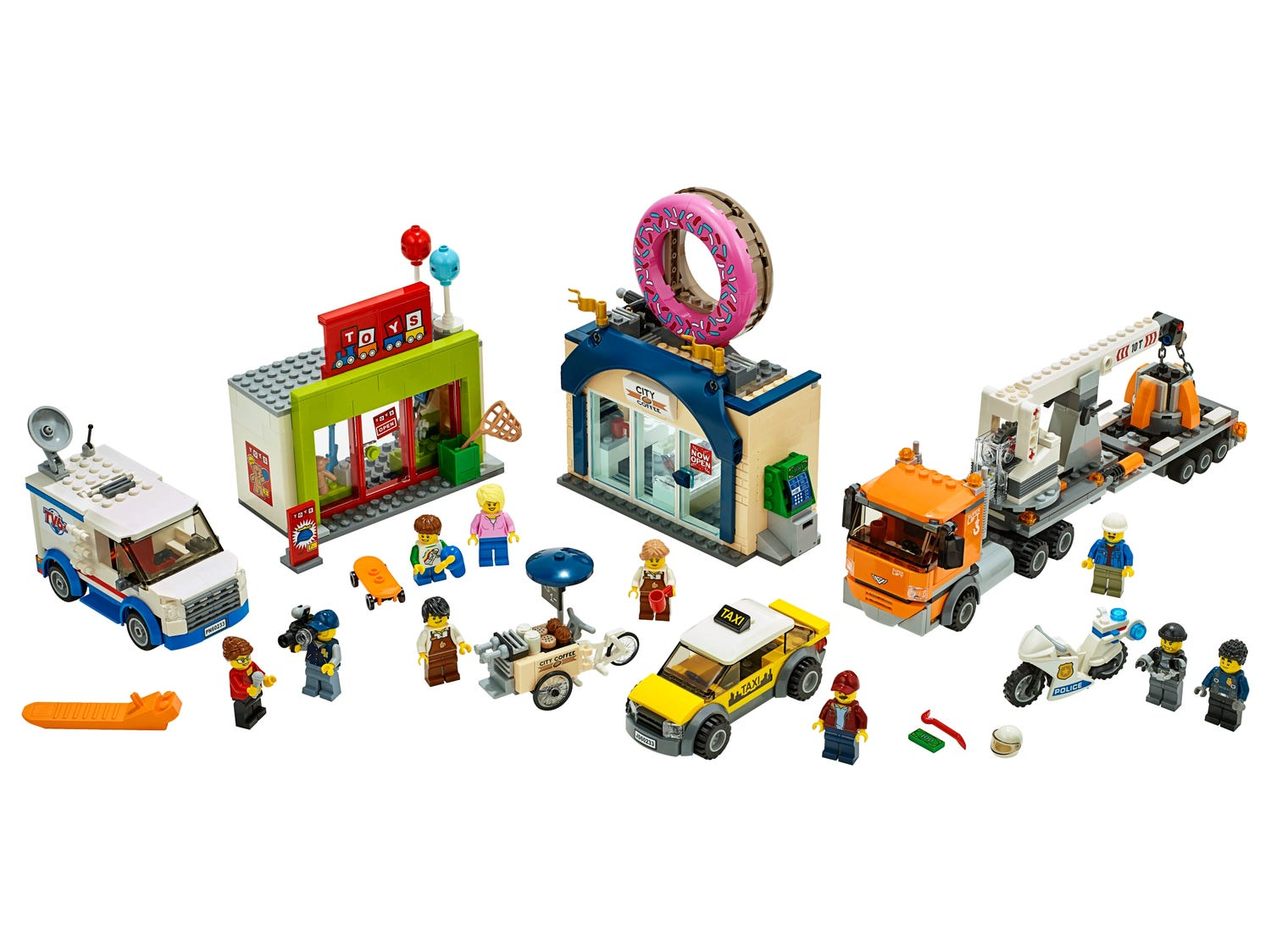 Donut Shop Opening 60233 City Buy Online At The Official Lego 174 Shop It