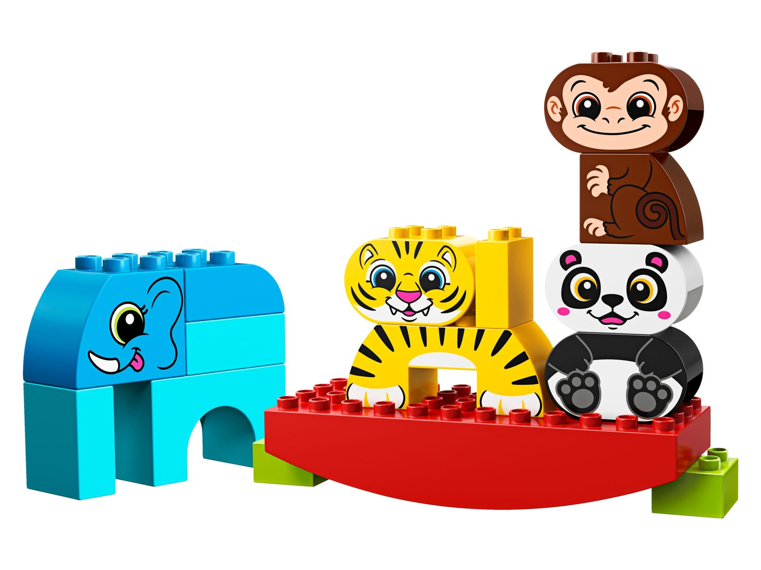 My First Balancing Animals 10884 | DUPLO® | Buy online at the ...