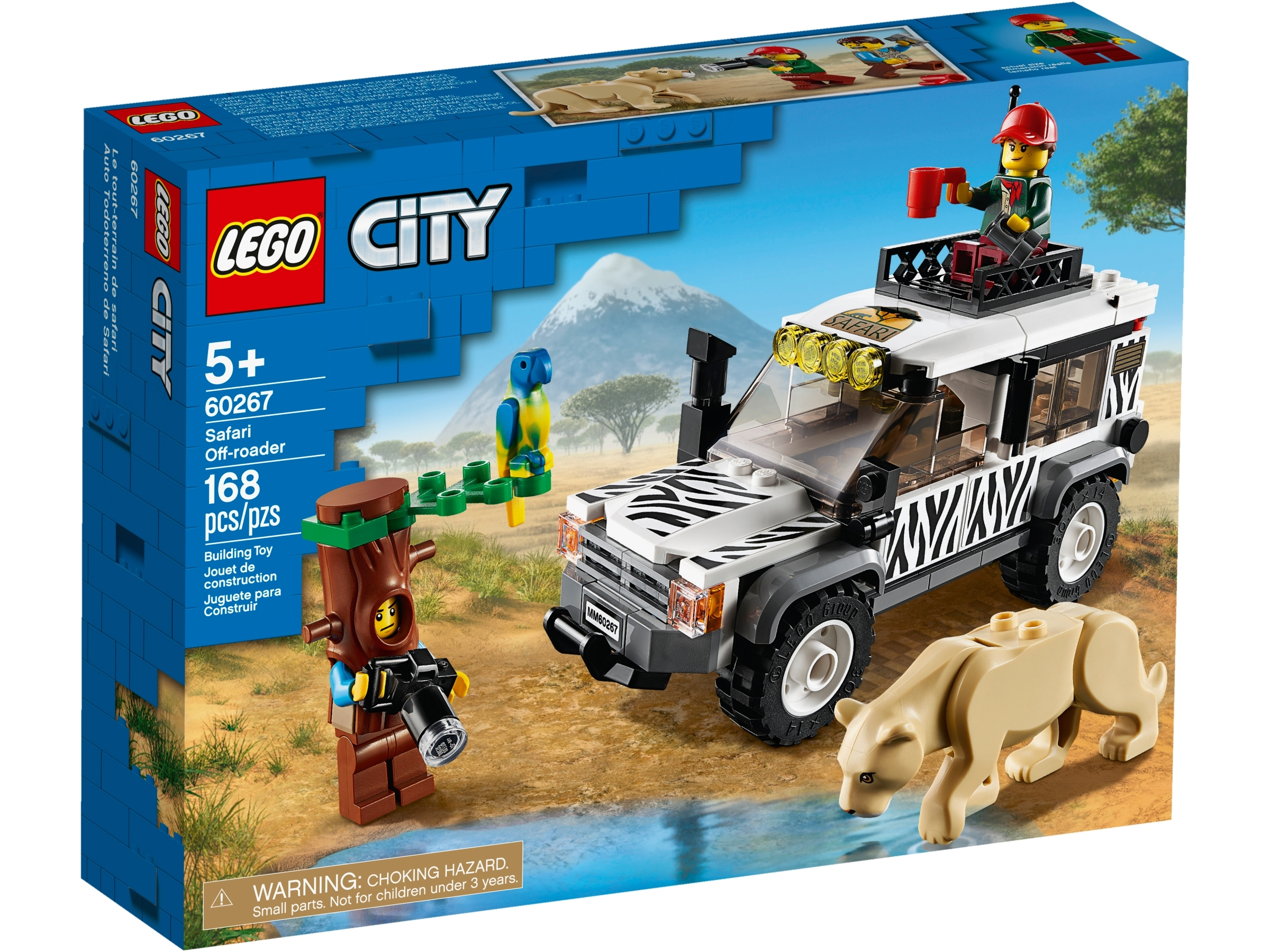 LEGO® City Safari Off-Roader 60267 168 pcs