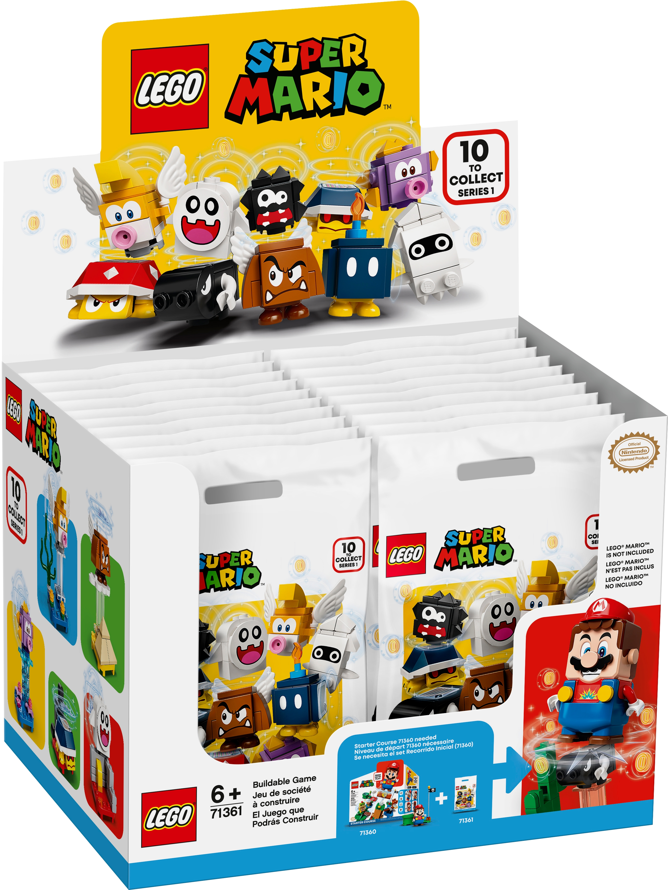 YOU PICK LEGO 71361 Super Mario Collectible Character Pack Series 1