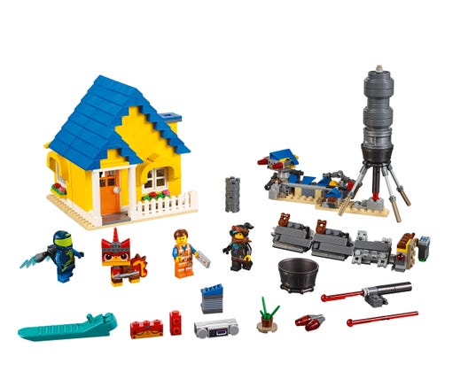 Emmet S Dream House Rescue Rocket 70831 The Lego Movie 2 Buy Online At The Official Lego Shop Us
