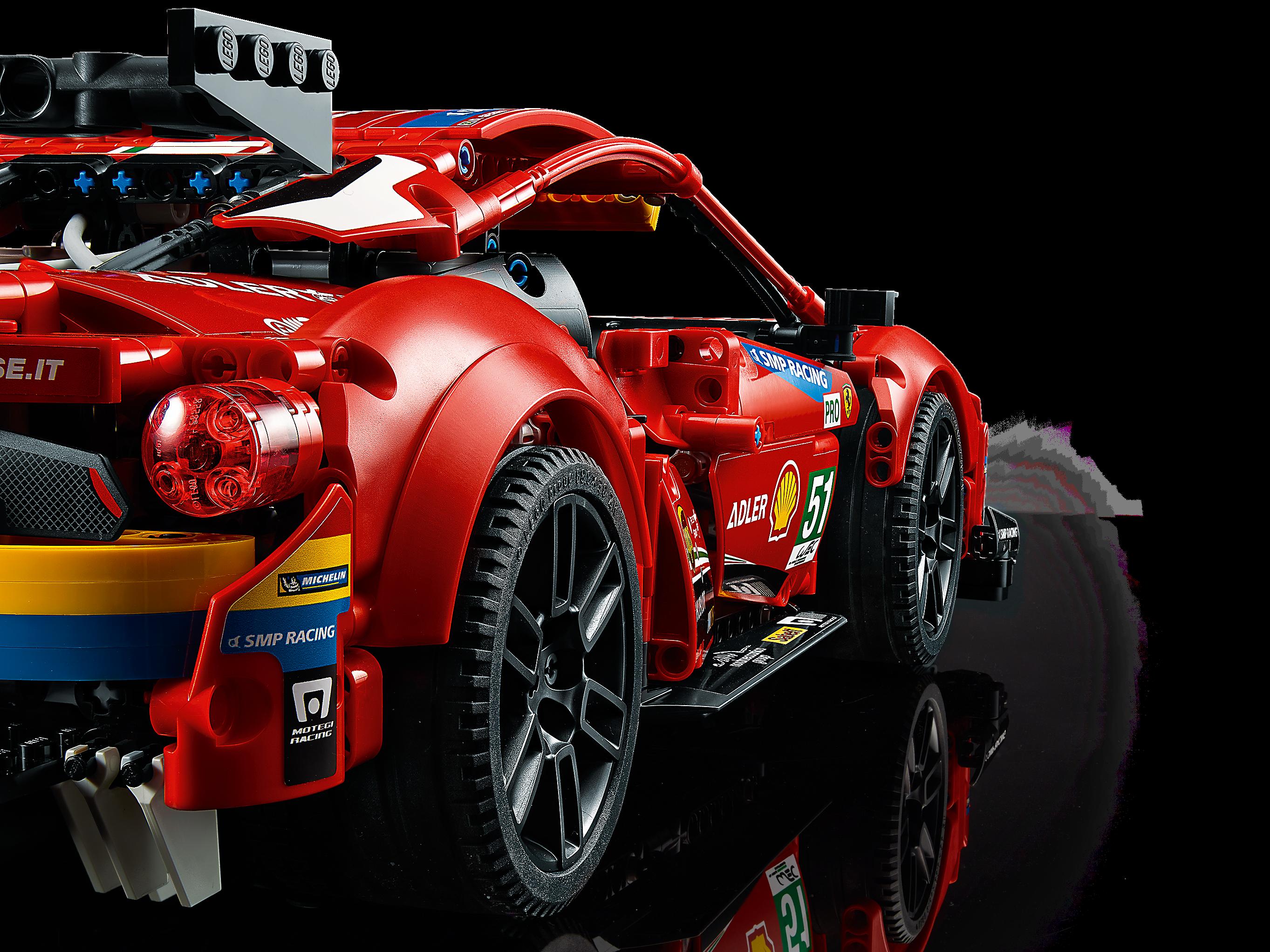 Ferrari 488 Gte Af Corse 51 42125 Technic Offiziellen Lego Shop De