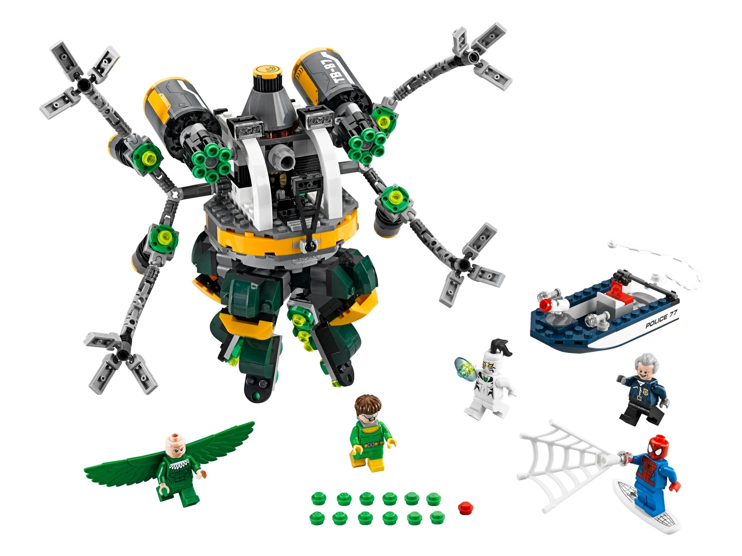 LEGO Super Heroes Vulture 76059 - Figur Minifig Spiderman Doc Ock 76059