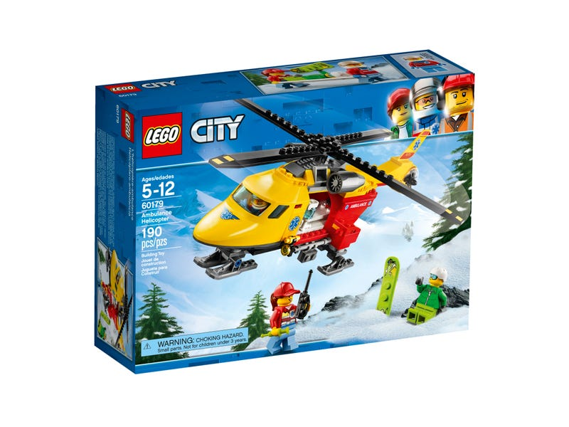 Ambulance Helicopter 60179 City Buy Online At The Official Lego Shop Dk