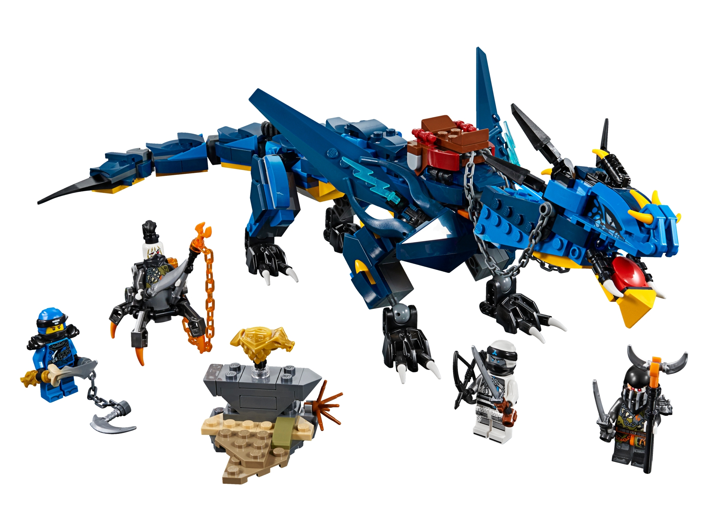 Stormbringer 70652 Ninjago Buy Online At The Official Lego Shop Us So, i got the idea from that to put it on the lightning dragon as well. stormbringer