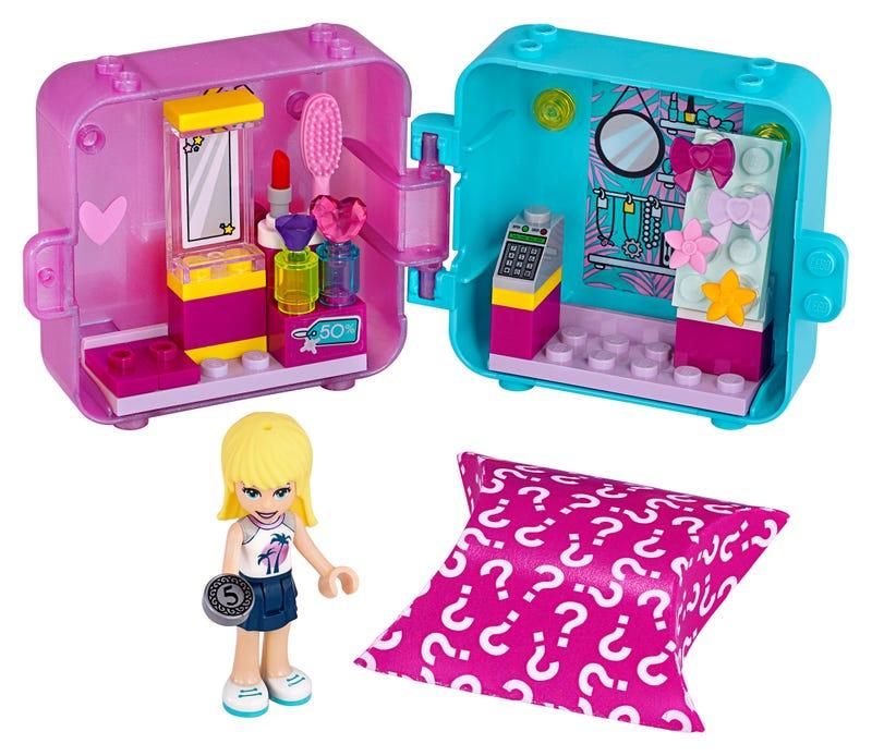 Stephanie's Shopping Play Cube