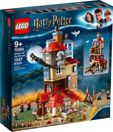 Attack On The Burrow 75980 Harry Potter Buy Online At The Official Lego Shop Us