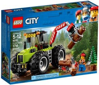 Le tracteur forestier