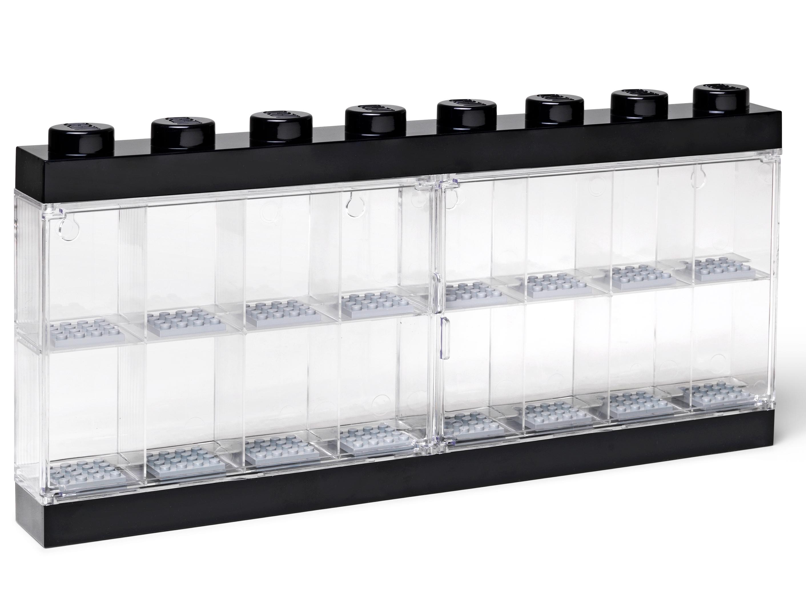 Acrylic stackable Display Case for LEGO Brickheadz double