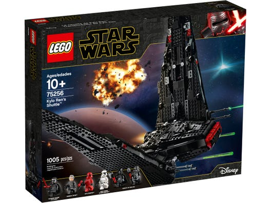 Kylo Ren S Shuttle 75256 Star Wars Buy Online At The Official Lego Shop Us