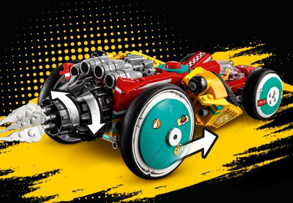 Lego 80015 80014 Monkie Kid new white smoke piece Monkie Kid/'s Cloud Roadster