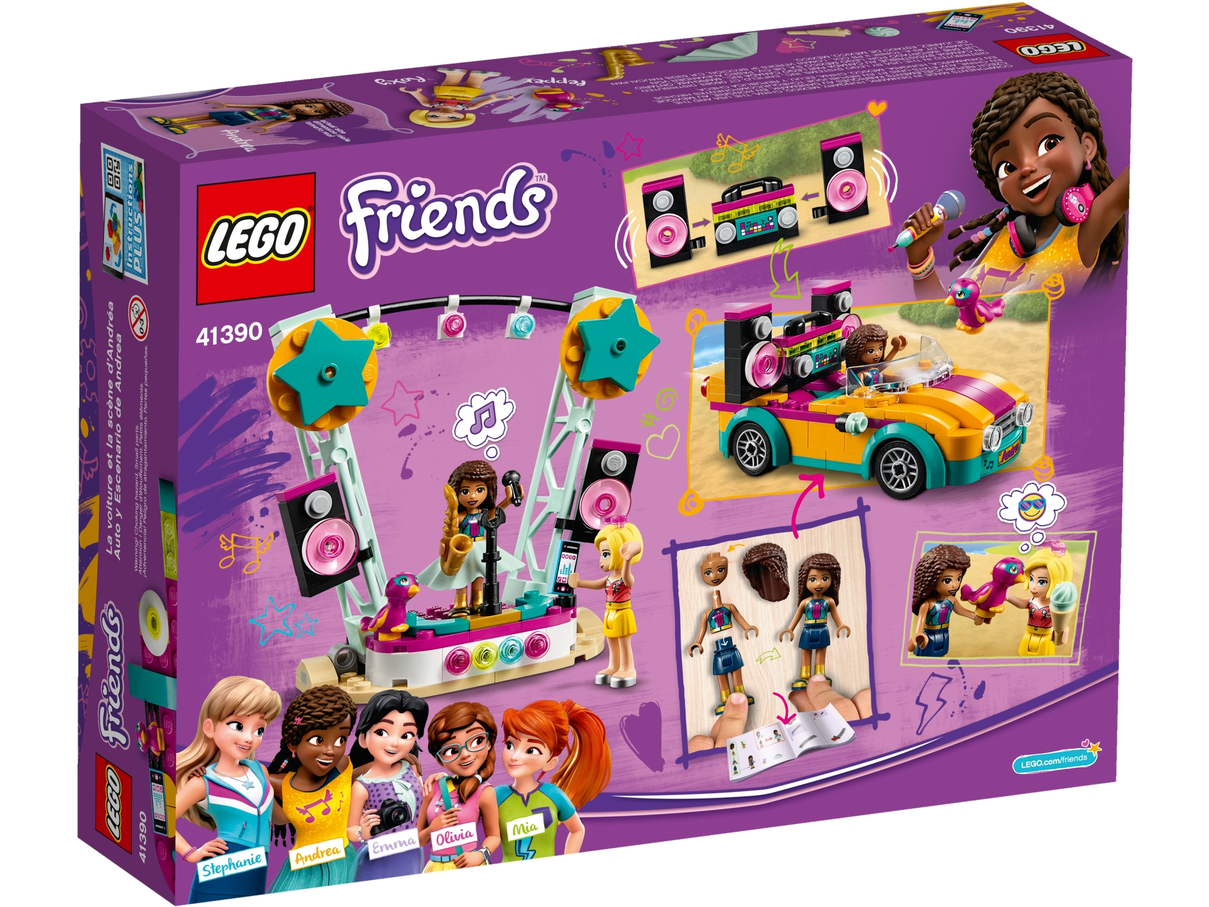Andreas bil og scene 41390 | Friends | Offisielle LEGO® Shop NO