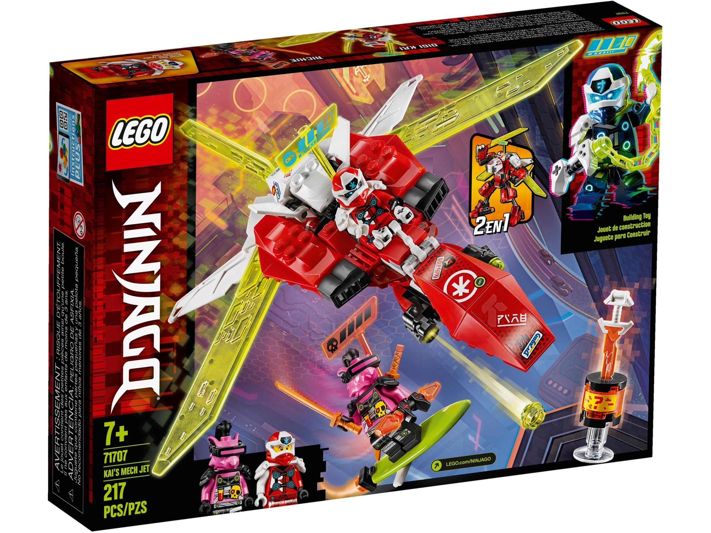 Kai S Mech Jet 71707 Ninjago Buy Online At The Official Lego Shop Us