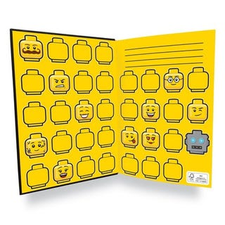Minifigure Notebook