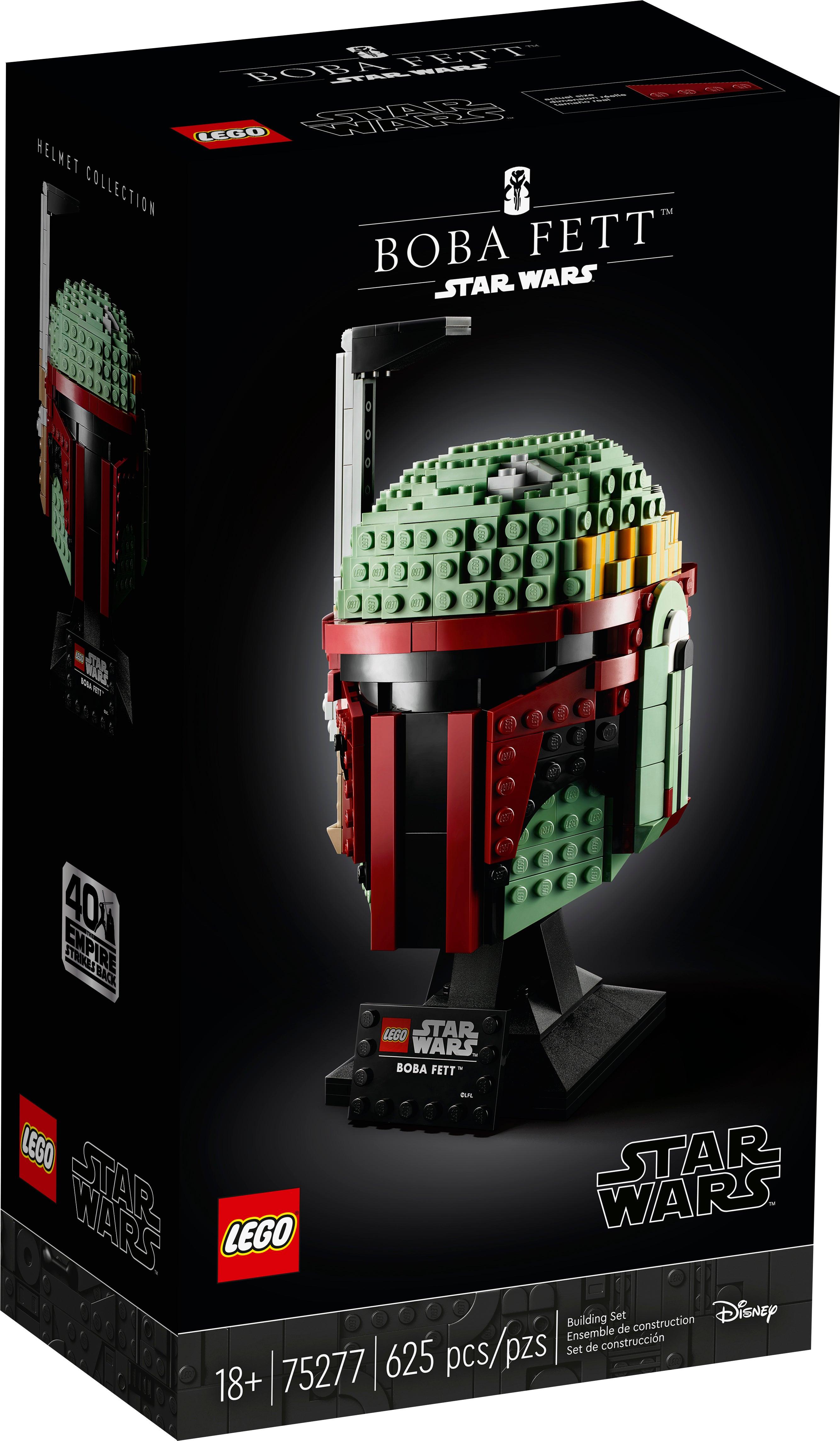 LEGO Star Wars Boba Fett Helmet Display Building Set 75277