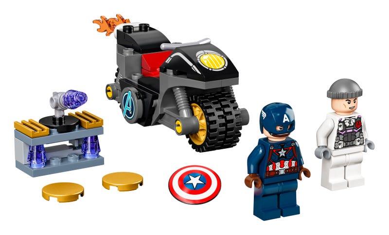 Duell zwischen Captain America und Hydra