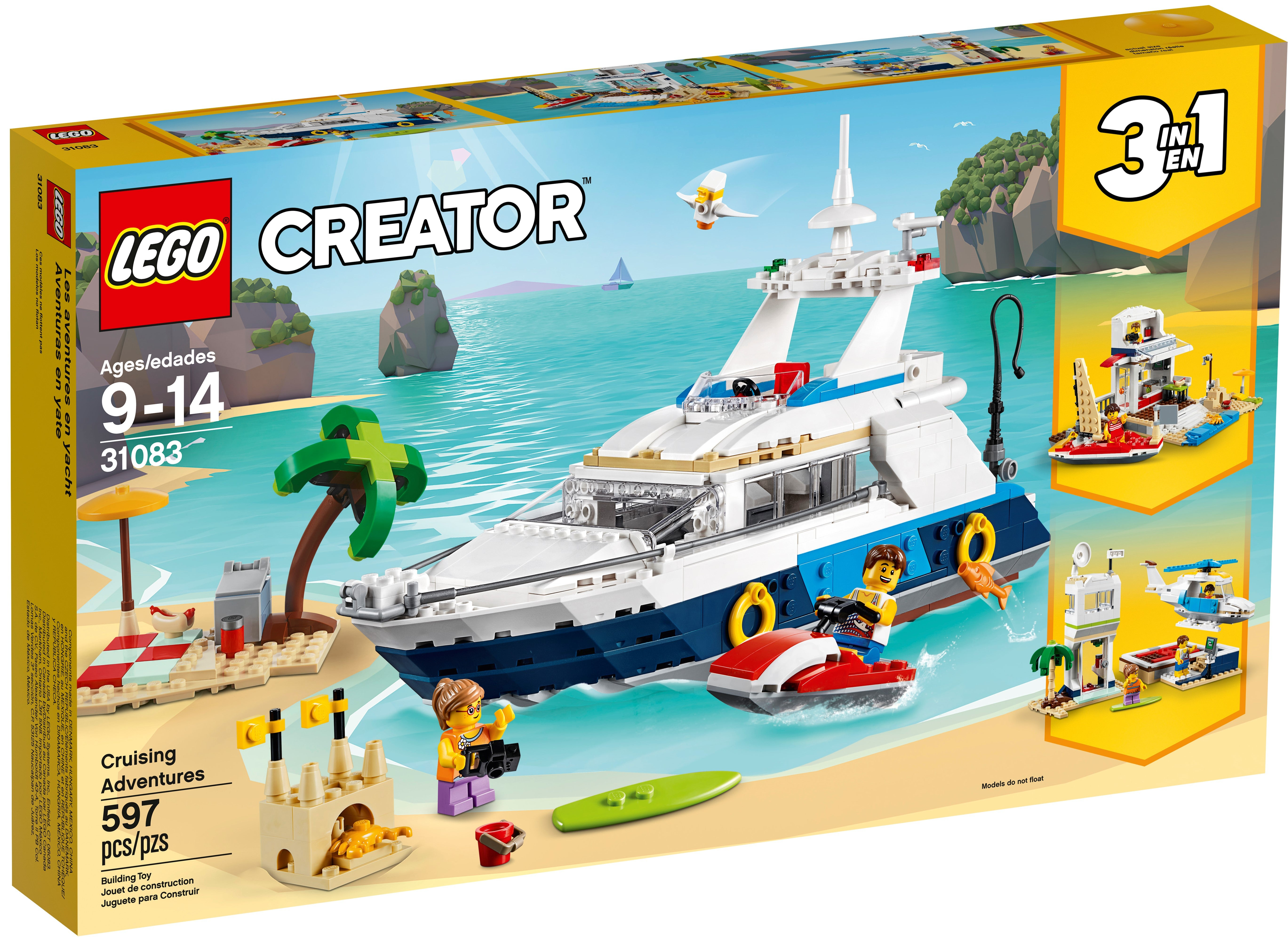 d7 lego creator system with full occasion ba plane boat high figurines